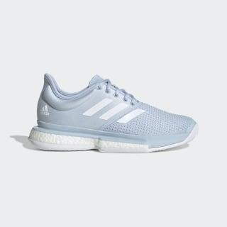 Кроссовки для тенниса Sole Boost x Parley Easy Blue / Cloud White / Easy Blue EG7694