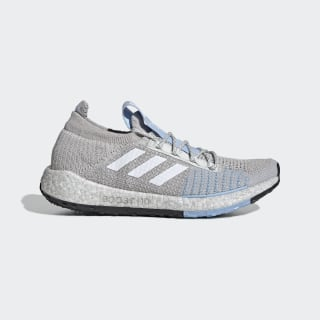 Chaussure Pulseboost HD Grey One / Cloud White / Glow Blue G26937