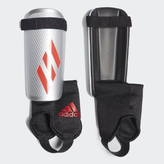 X Youth Shin Guards Silver Met. / Hi-Res Red / Black DY2584