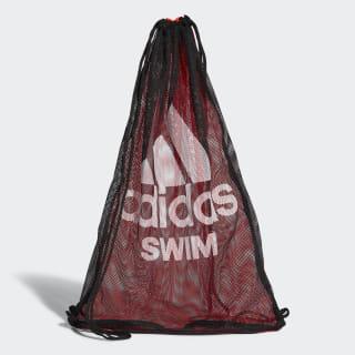 Swim Mesh Tas Black / Solar Red / White CV4013