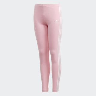 Calzas 3 Tiras Light Pink / White DH2663