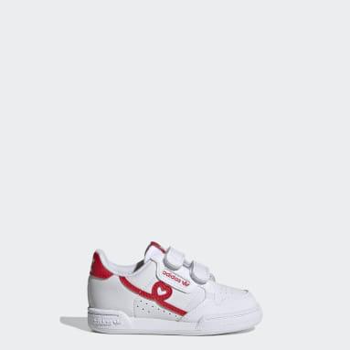 Infants Originals White Continental 80 Shoes