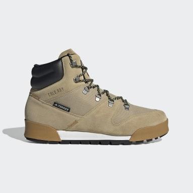 Men's TERREX Beige Terrex Snowpitch COLD.RDY Hiking Boots
