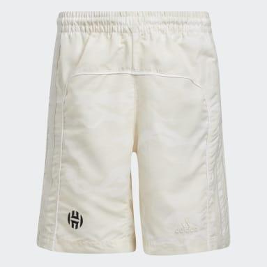 Children Basketball White Harden Vol. 5 Shorts