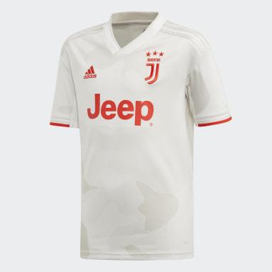 Boys Football White Juventus Away Jersey
