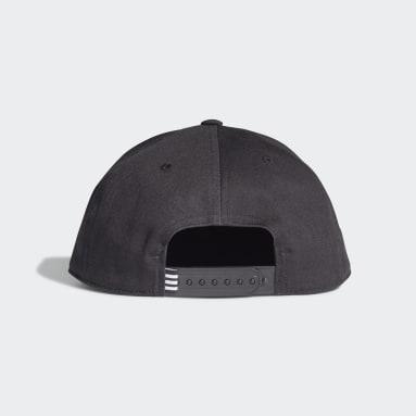 Originals Black Snapback Trefoil Cap