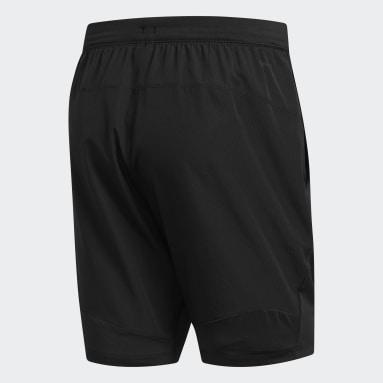 Shorts 4KRFT Sport Woven Negro Hombre Training
