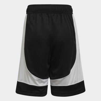 Kids 4-8 Years Basketball Black N3XT Prime Game Shorts