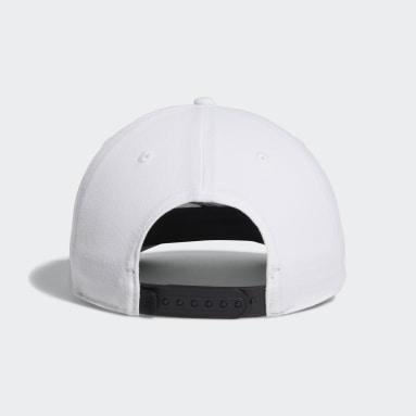Men Golf White Golf Flag Hat