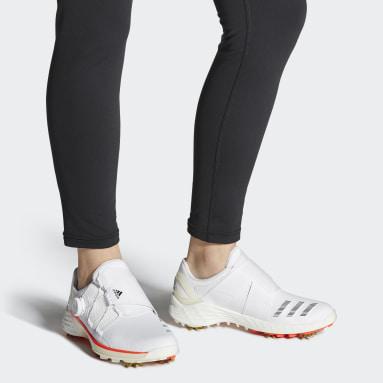 Women Golf White ZG21 BOA Tokyo Golf Shoes