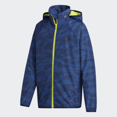 синий Куртка Woven