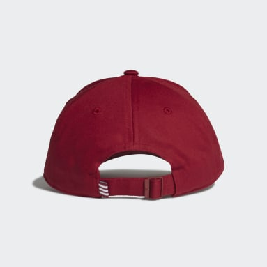 Originals Burgundy Trefoil Baseball Cap