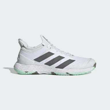 Sapatos de Ténis Parley Adizero Ubersonic 4 – Piso duro Branco Mulher Ténis