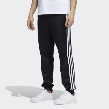Men Originals Black 3-Stripes Track Pants