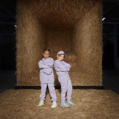 Moletom Capuz Cargo Roxo Kids Originals