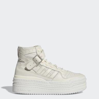 Originals White Triple Platforum Hi Shoes