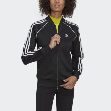 Track jacket Primeblue SST Nero Donna Originals