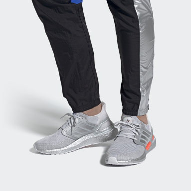 Chaussure Ultraboost 20DNA gris Course