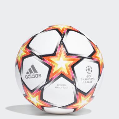 Football White UCL Pro Pyrostorm Ball