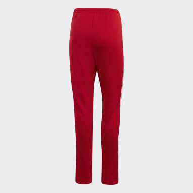 Pants SST Track Rojo Mujer Originals