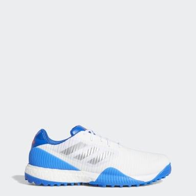Men's Golf White CodeChaos Sport Golf Shoes