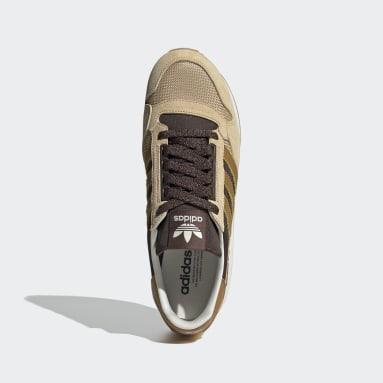 Men Originals Beige ZX 500 Shoes