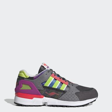 Originals Grey ZX 10,000 Shoes