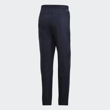 Men Gym & Training Blue Climacool Workout Pants