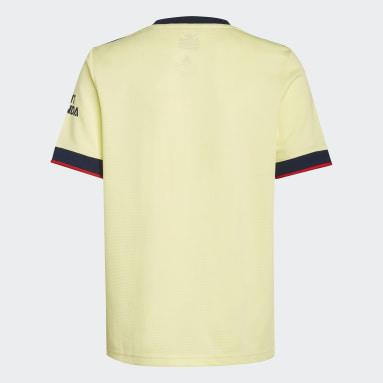 Camiseta segunda equipación Arsenal 21/22 Amarillo Niño Fútbol