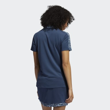 Frauen Golf Ultimate365 Primegreen Poloshirt Blau