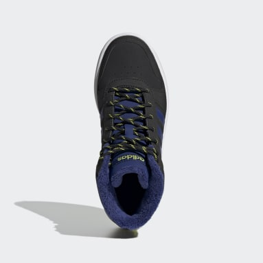 черный Высокие кроссовки Hoops 2.0