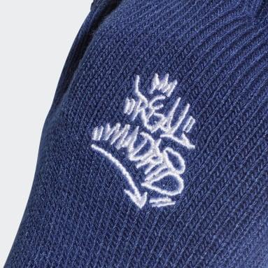 Fußball Real Madrid Handschuhe Blau