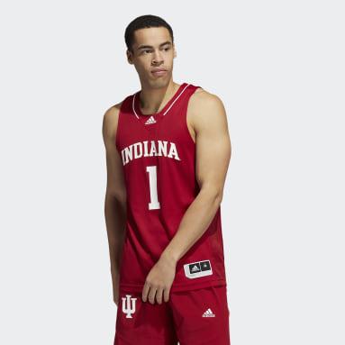 Men's Basketball Red Hoosiers NCAA Swingman Jersey