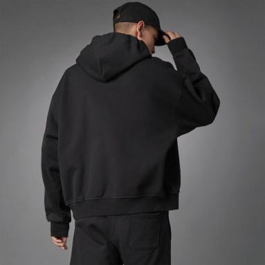 Men Originals Black Blue Version Essentials Hoodie