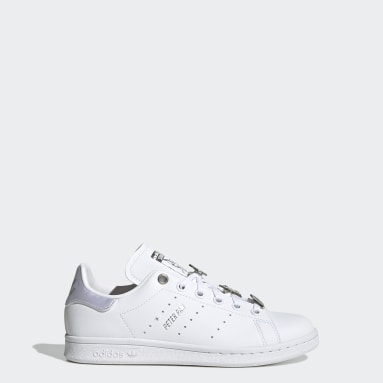 Youth Originals White Peter Pan and Tinker Bell Stan Smith