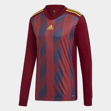Muži Fotbal Purpurová Dres Striped 19