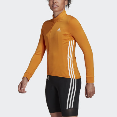 Women Cycling Orange The COLD.RDY Long Sleeve Cycling Jersey