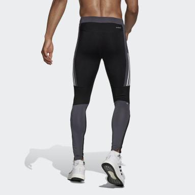 Men's Running Black Saturday Block Better Tights