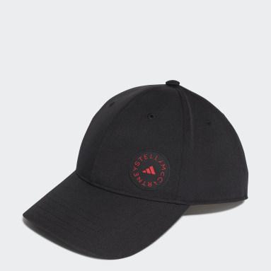 ผู้หญิง วิ่ง สีดำ หมวกแก๊ปสำหรับใส่วิ่ง adidas by Stella McCartney