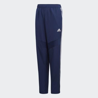 Pantalón técnico Tiro 19 Azul Niño Gimnasio Y Entrenamiento