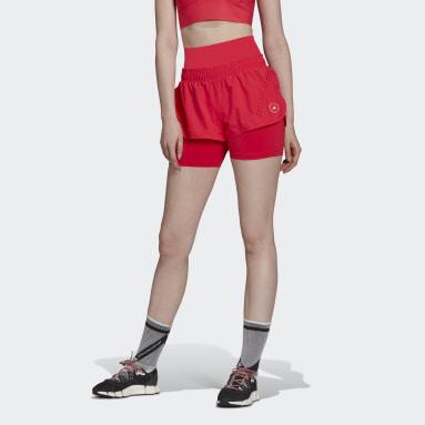 Women adidas by Stella McCartney Pink adidas by Stella McCartney TRUEPURPOSE High Intensity Shorts