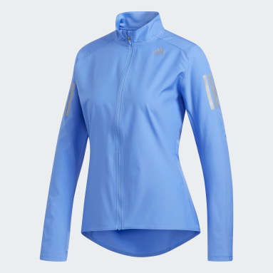 Veste Own the Run Bleu Femmes Running