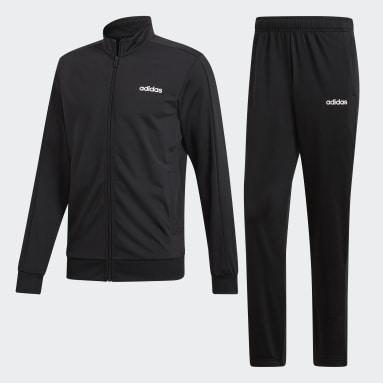 Men Gym & Training Black Essentials Basics Track Suit