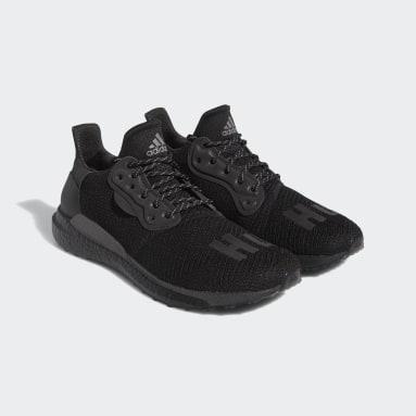 Löpning Svart Pharrell Williams Solar HU Shoes