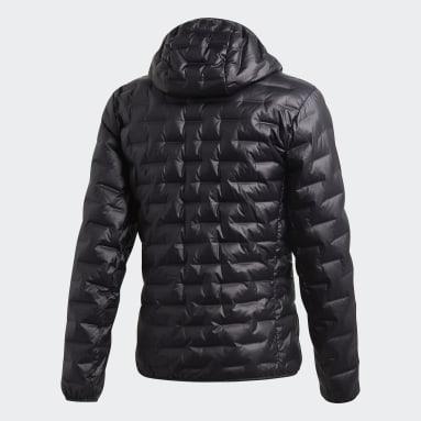 Men TERREX Black Light Down Hooded Jacket