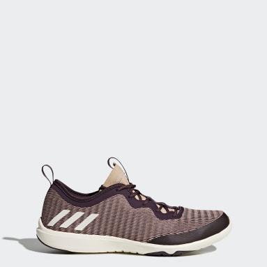 Women Training Burgundy adipure 360.4 Shoes