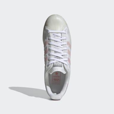 Men Originals White Superstar Futureshell Shoes