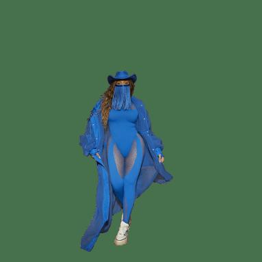 Giacca Cover-Up Blu Donna Originals