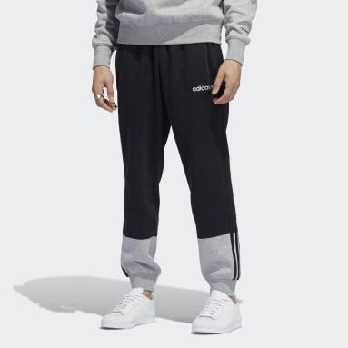 Men's Originals Black 3-Stripes Split Sweat Pants