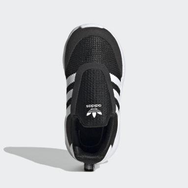 Infant & Toddler Originals Black ZX 360 Shoes